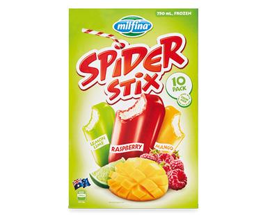 Milfina Spider Stix Variety Pack 10pk/750ml