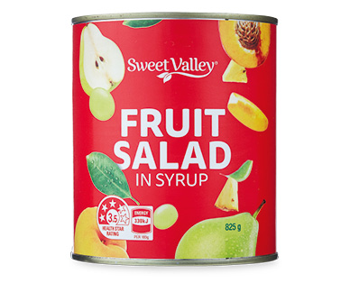 Sweet Valley Fruit Salad in Syrup 825g