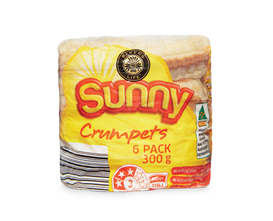 Bakers Life Sunny Crumpets 6pk