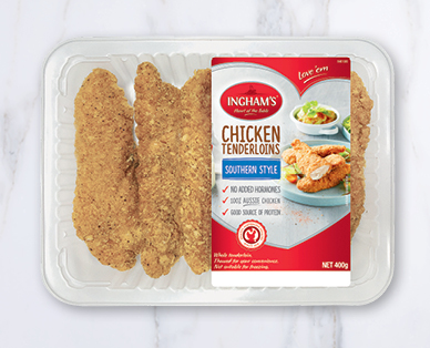 Ingham's Chicken Tenders Southern Style 400g