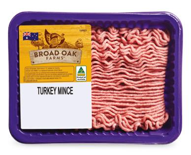 Broad Oak Farms Turkey Mince 500g