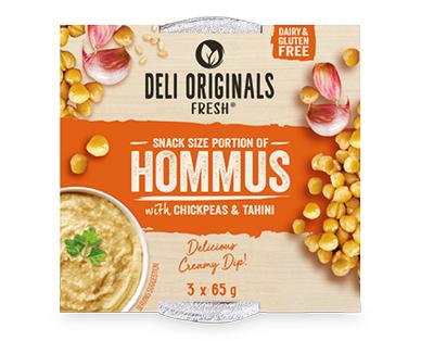 Deli Originals Multipack Hommus Dip 3x65g