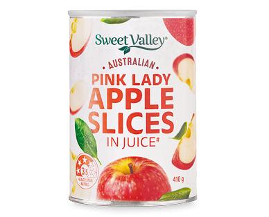 Sweet Valley Australian Apple Slices in Juice 410g