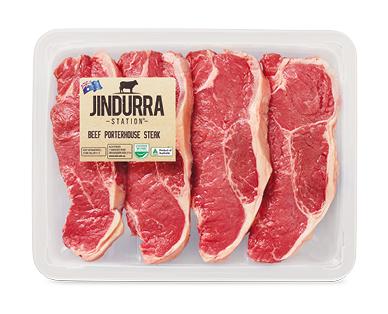 Jindurra Station Beef Porterhouse Steak per kg