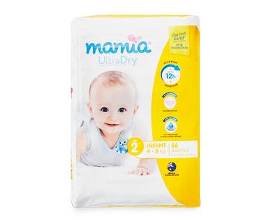 MAMIA® UnisexInfant Nappies 4kg-8kg 56pk