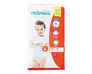 MAMIA® Unisex Junior Nappies 16kg-25kg 40pk