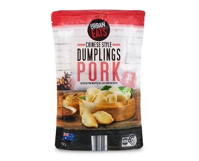 URBAN EATS Pork Dumplings 750g