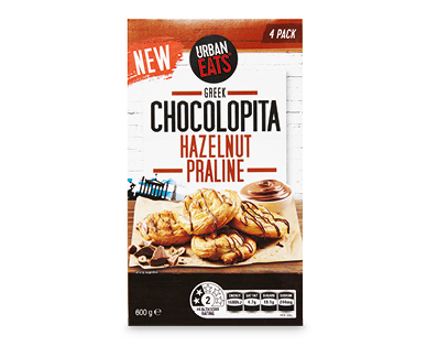 URBAN EATS Chocolopita 4pk/600g