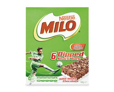 Nestlé Milo Bars with White Chocolate 6pk/160g