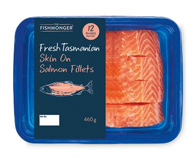 The Fishmonger Fresh Tasmanian Salmon 4pk/460g