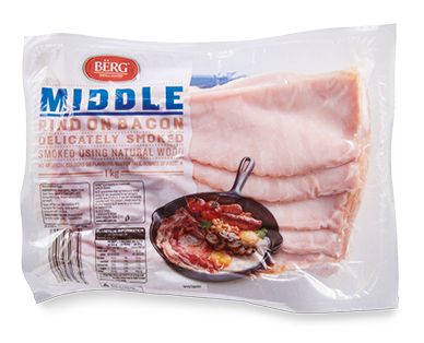 BERG Middle Bacon 1kg