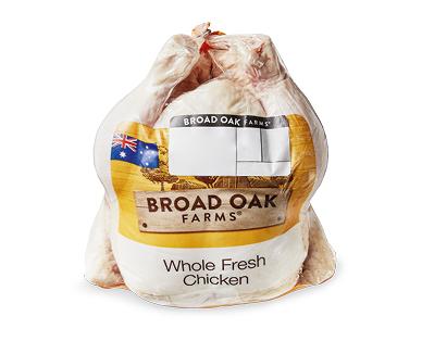 Broad Oak Farms Fresh Whole Chicken per kg