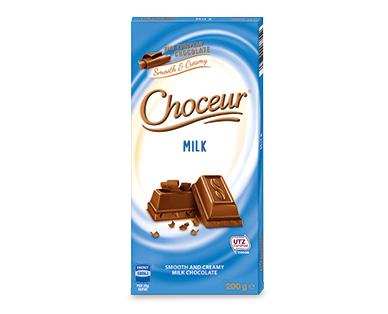 Choceur Milk Chocolate Block 200g