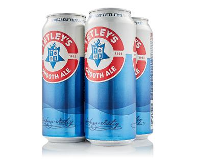 Tetley's English Ale 4 x 440ml