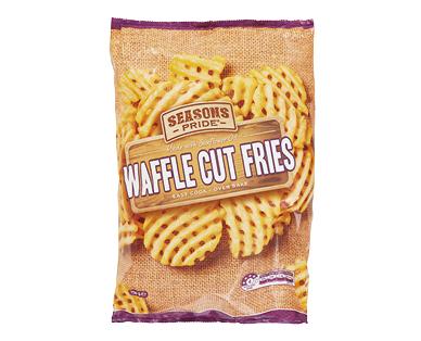 Seasons Pride Waffle Cut Fries 750g