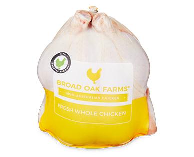 Broad Oaks Farm Fresh Whole Chicken