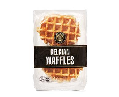 Bakers Life Authentic Belgian Waffles 4pk/360g