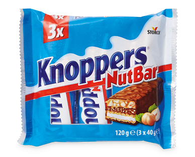 Storck Knoppers Nutbar 3pk/120g