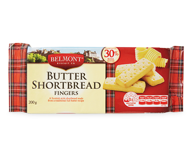 Belmont Biscuit Co. Butter Shortbread Fingers 200g