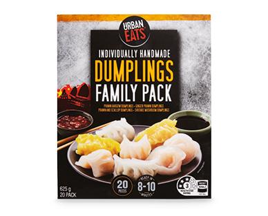 Urban Eats Dumplings Family Pack 20pk/625g