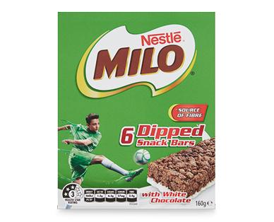 Nestlé Milo Bars 6pk/160g
