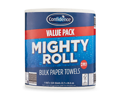 Confidence Bulk Paper Towel 2ply/520 sheets