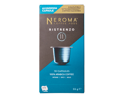 Neroma Ristrenzo #11 Nespresso Compatible Coffee Capsules 10pk
