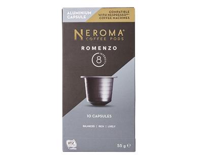 Neroma Romenzo #8 Nespresso Compatible Coffee Capsules 10pk