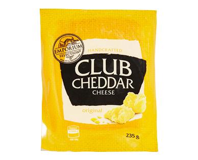 Emporium Selection Original Club Cheddar 235g
