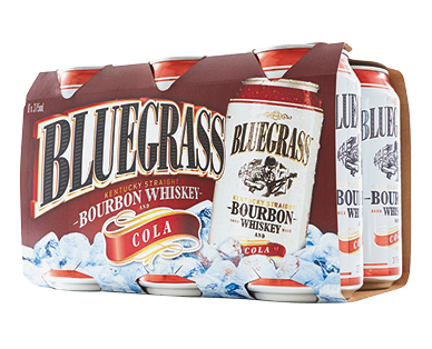 Bluegrass Bourbon Whiskey and Cola