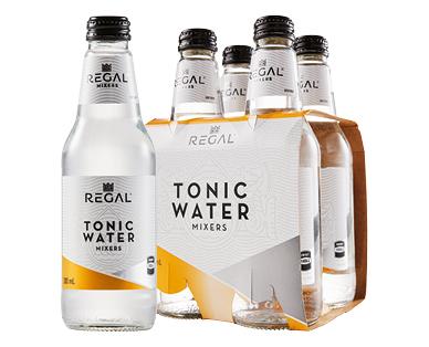 Regal Mixers 4pk Tonic Water 4 x 300ml