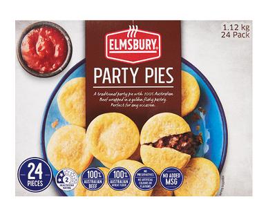 Elmsbury Party Pies 24pk/1.12kg