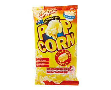 Chazoos Microwave Popcorn 85g/100g