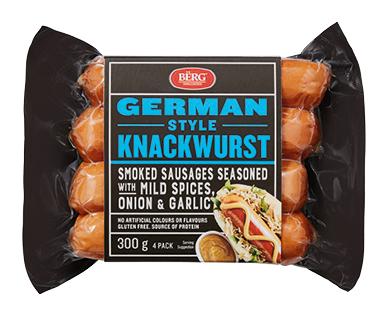 Berg Knackwurst 300g