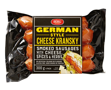Berg Cheese Kransky 300g