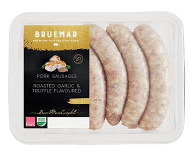 Bruemar Pork Sausages with Garlic Truffle 500g