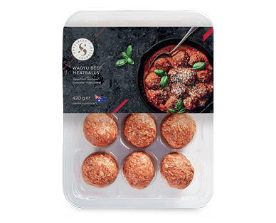 Specially Selected Wagyu Beef Meatballs 420g