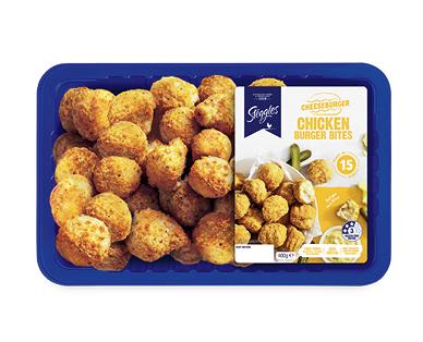 Steggles Chicken Burger Bites 400g