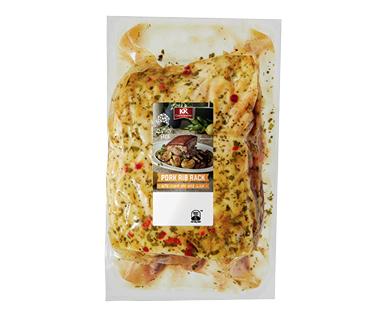KRC Pork Rib Rack with Lemon & Herb per kg