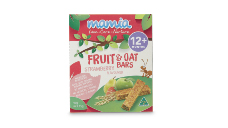 Mamia Fruit & Oat Bars 90g - Strawberry 12+ Months