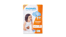 Mamia Unisex Crawler Nappies 6-11kg 56pk