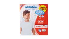 Mamia Unisex Junior Nappies 16-25kg, 66pk