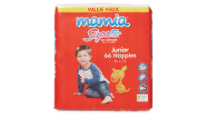 Mamia Unisex Junior Nappies 16-25kg, 66pk