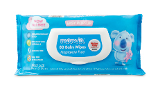 Mamia Baby Wipes 80pk Fragrance Free