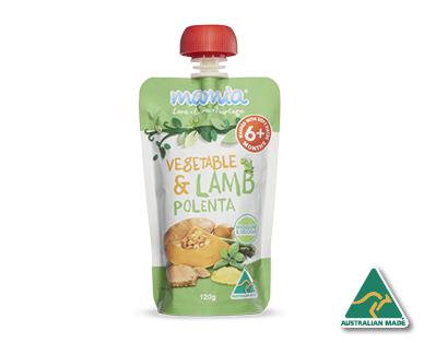 Mamia premium baby food 6 months 120g aldi australia for Aldi international cuisine