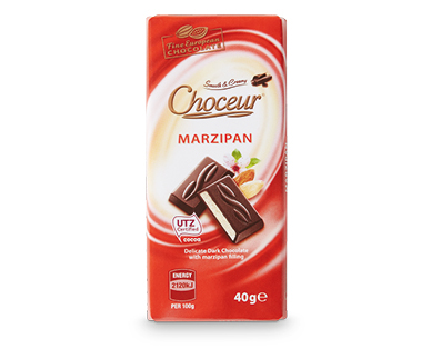 Marzipan Mini Chocolate Bars 5 x 40g