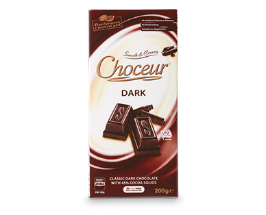 Choceur Dark Block Chocolate 200g