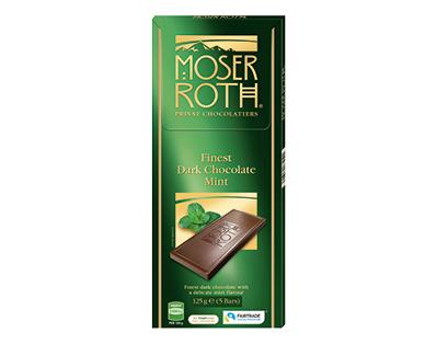 Moser Roth Dark Mint Chocolate Block 125g