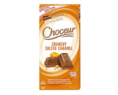 Choceur Crunchy Salted Caramel 200g