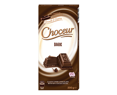 Choceur Dark Chocolate Block 200g